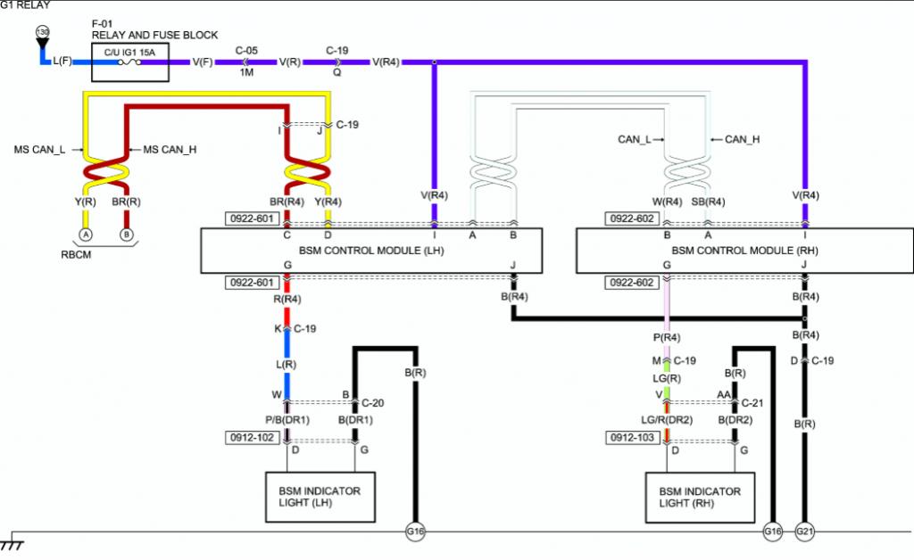 Mazda - Mazda3 2015 2 4l Wiring Diagrams