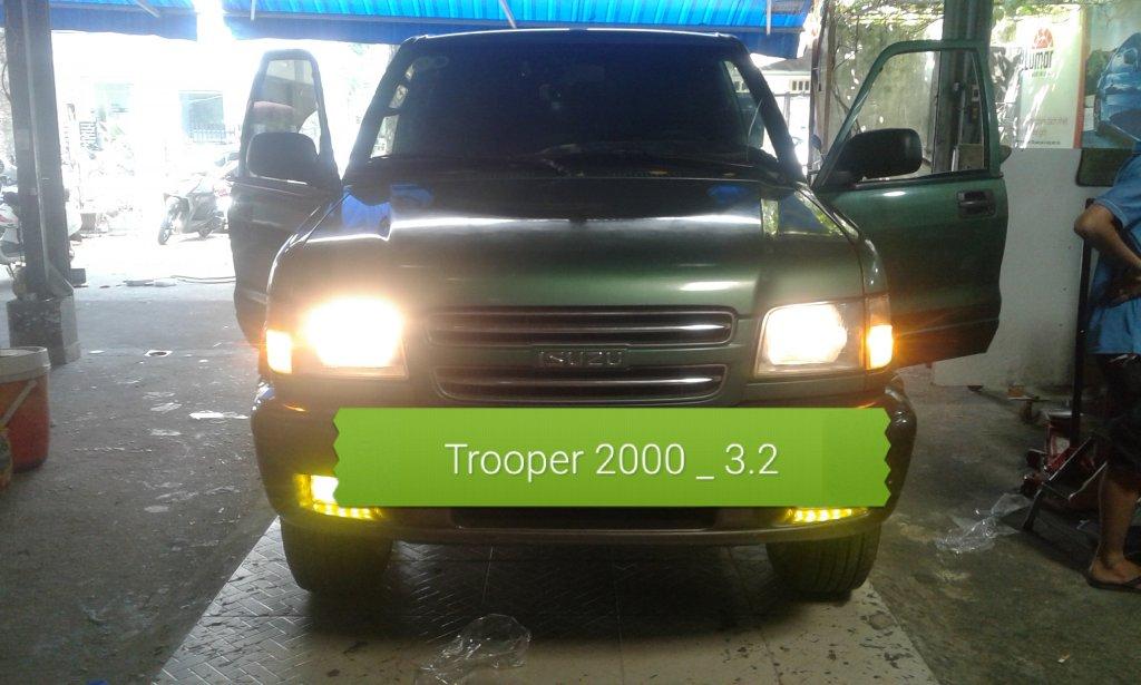 SOS. Cần giúp đỡ  Trooper 2000_  3.2 tự chết máy