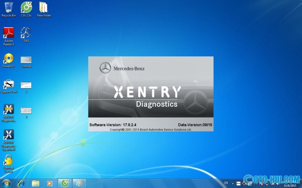 Tiếp tục cập nhật XENTRY XDOS 09/2015 trên win 7 + win 8