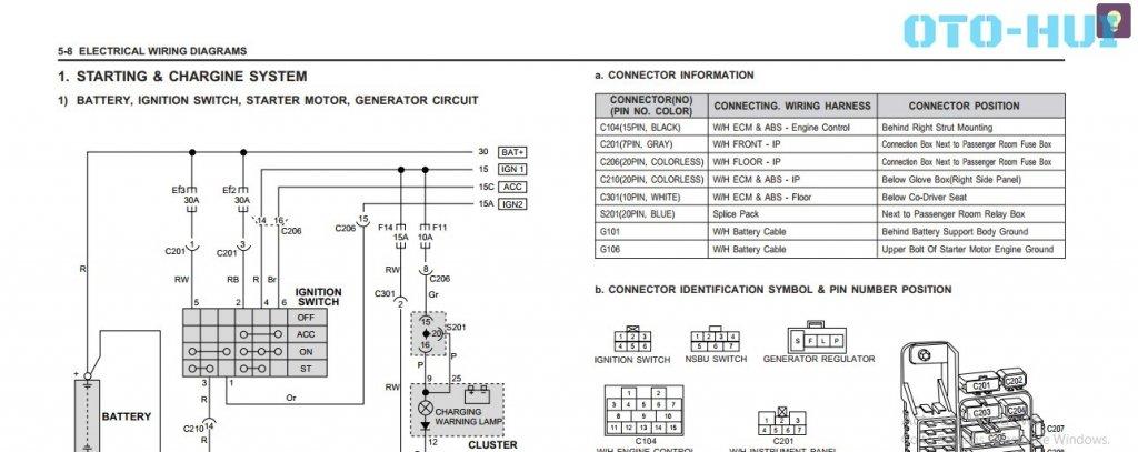 on daewoo door wiring diagram