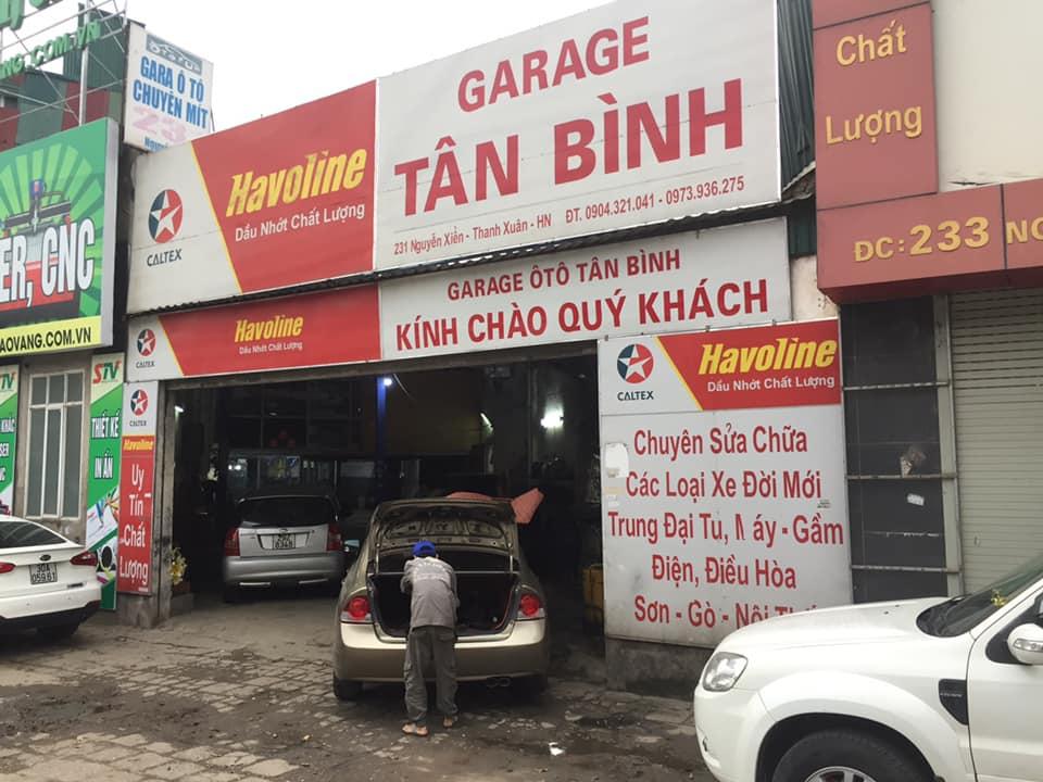 Garage Tân Bình tại Hà Nội, chuyên: máy - gầm - điện - điều hoà- sơn - gò