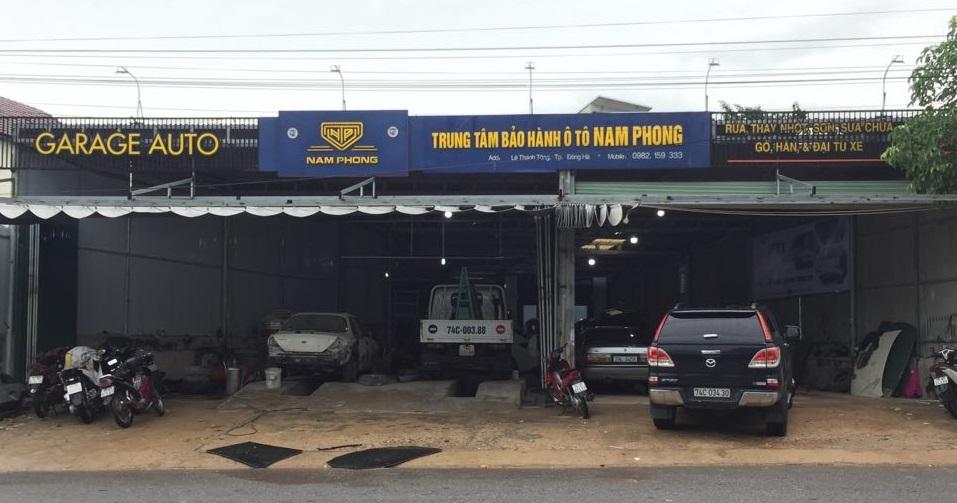Gara ô tô Nam Phong tại Quảng Trị, chuyên các dòng xe du lịch