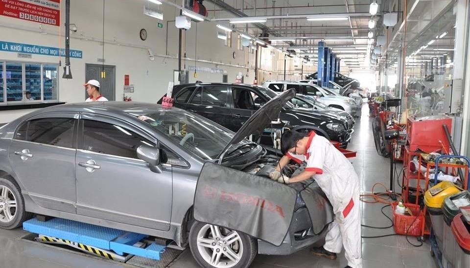 Những hạng mục cần thay thế, bảo dưỡng định kỳ theo số km cho xe ô tô