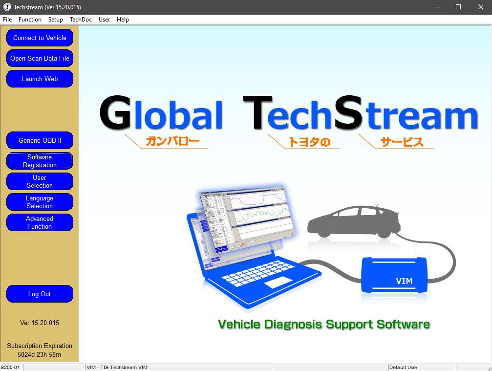 Toyota / Lexus - Phần mềm chẩn đoán TOYOTA Techstream V15.20.015 tháng  8-2020   OTO-HUI - Cộng đồng kỹ thuật và công nghệ ô tô Việt Nam